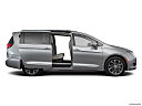 2018 Chrysler Pacifica Limited, passenger's side view, sliding door open (vans only).