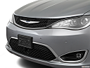 2018 Chrysler Pacifica Limited, close up of grill.