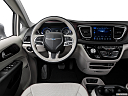 2018 Chrysler Pacifica Limited, steering wheel/center console.
