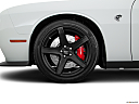 2018 Dodge Challenger SRT Hellcat, front drivers side wheel at profile.