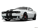 2018 Dodge Challenger SRT Hellcat, front angle view, low wide perspective.