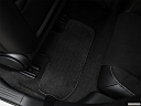 2018 Dodge Challenger SRT Hellcat, rear driver's side floor mat. mid-seat level from outside looking in.
