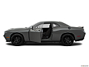2018 Dodge Challenger SXT, driver's side profile with drivers side door open.