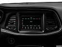2018 Dodge Challenger SXT, closeup of radio head unit