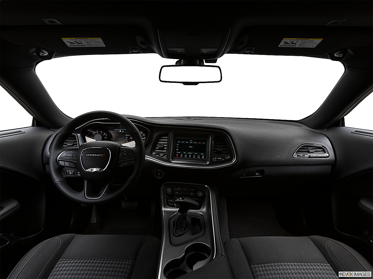 2018 Dodge Challenger SXT, centered wide dash shot