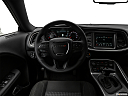 2018 Dodge Challenger SXT, steering wheel/center console.