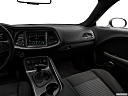 2018 Dodge Challenger SXT, center console/passenger side.