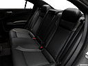 2018 Dodge Charger SXT Plus, rear seats from drivers side.