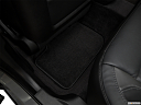 2018 Dodge Charger SXT Plus, rear driver's side floor mat. mid-seat level from outside looking in.