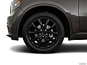 2018 Dodge Durango GT, front drivers side wheel at profile.