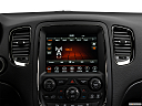 2018 Dodge Durango GT, closeup of radio head unit