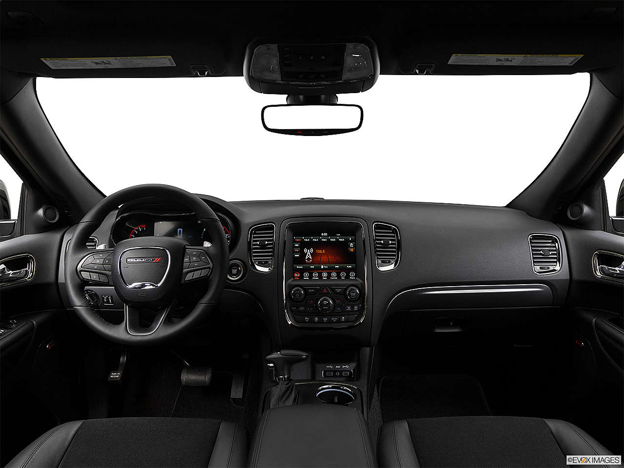 2018 Dodge Durango GT, centered wide dash shot