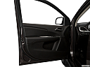 2018 Dodge Journey SXT, inside of driver's side open door, window open.