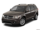 2018 Dodge Journey SXT, front angle view.