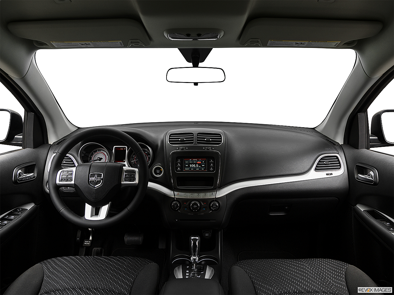 2018 Dodge Journey SXT, centered wide dash shot