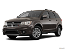 2018 Dodge Journey SXT, front angle medium view.