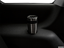 2018 Dodge Journey SXT, third row side cup holder with coffee prop.