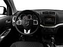 2018 Dodge Journey SXT, steering wheel/center console.