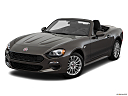 2018 Fiat 124 Spider Classica, front angle view.