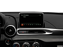 2018 Fiat 124 Spider Classica, closeup of radio head unit