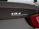2018 Fiat 124 Spider Classica, rear model badge/emblem