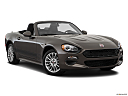 2018 Fiat 124 Spider Classica, front passenger 3/4 w/ wheels turned.