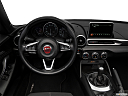 2018 Fiat 124 Spider Classica, steering wheel/center console.