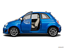 2018 Fiat 500 Lounge, driver's side profile with drivers side door open.