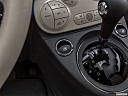 2018 Fiat 500 Lounge, driver's side inside window controls.
