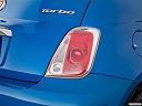 2018 Fiat 500 Lounge, passenger side taillight.