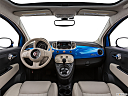 2018 Fiat 500 Lounge, centered wide dash shot