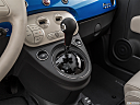 2018 Fiat 500 Lounge, gear shifter/center console.