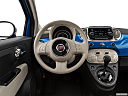 2018 Fiat 500 Lounge, steering wheel/center console.