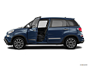 2018 Fiat 500L Trekking, driver's side profile with drivers side door open.