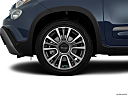 2018 Fiat 500L Trekking, front drivers side wheel at profile.