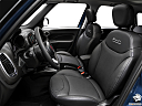 2018 Fiat 500L Trekking, front seats from drivers side.