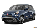 2018 Fiat 500L Trekking, front angle medium view.