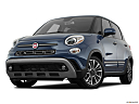 2018 Fiat 500L Trekking, front angle view, low wide perspective.