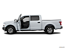 2018 Ford F-150 XLT, driver's side profile with drivers side door open.
