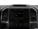 2018 Ford F-150 XLT, closeup of radio head unit
