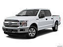 2018 Ford F-150 XLT, front angle medium view.