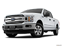 2018 Ford F-150 XLT, front angle view, low wide perspective.