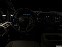 "2018 Ford F-150 XLT, centered wide dash shot - ""night"" shot."