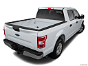 2018 Ford F-150 XLT, rear 3/4 angle view.