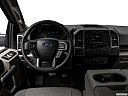 2018 Ford F-150 XLT, steering wheel/center console.