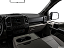 2018 Ford F-150 XLT, center console/passenger side.