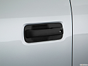 2018 Ford F-150 XL, drivers side door handle.