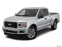 2018 Ford F-150 XL, front angle view.