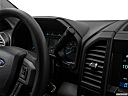 2018 Ford F-150 XL, gear shifter/center console.