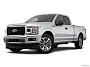 2018 Ford F-150 XL, front angle medium view.